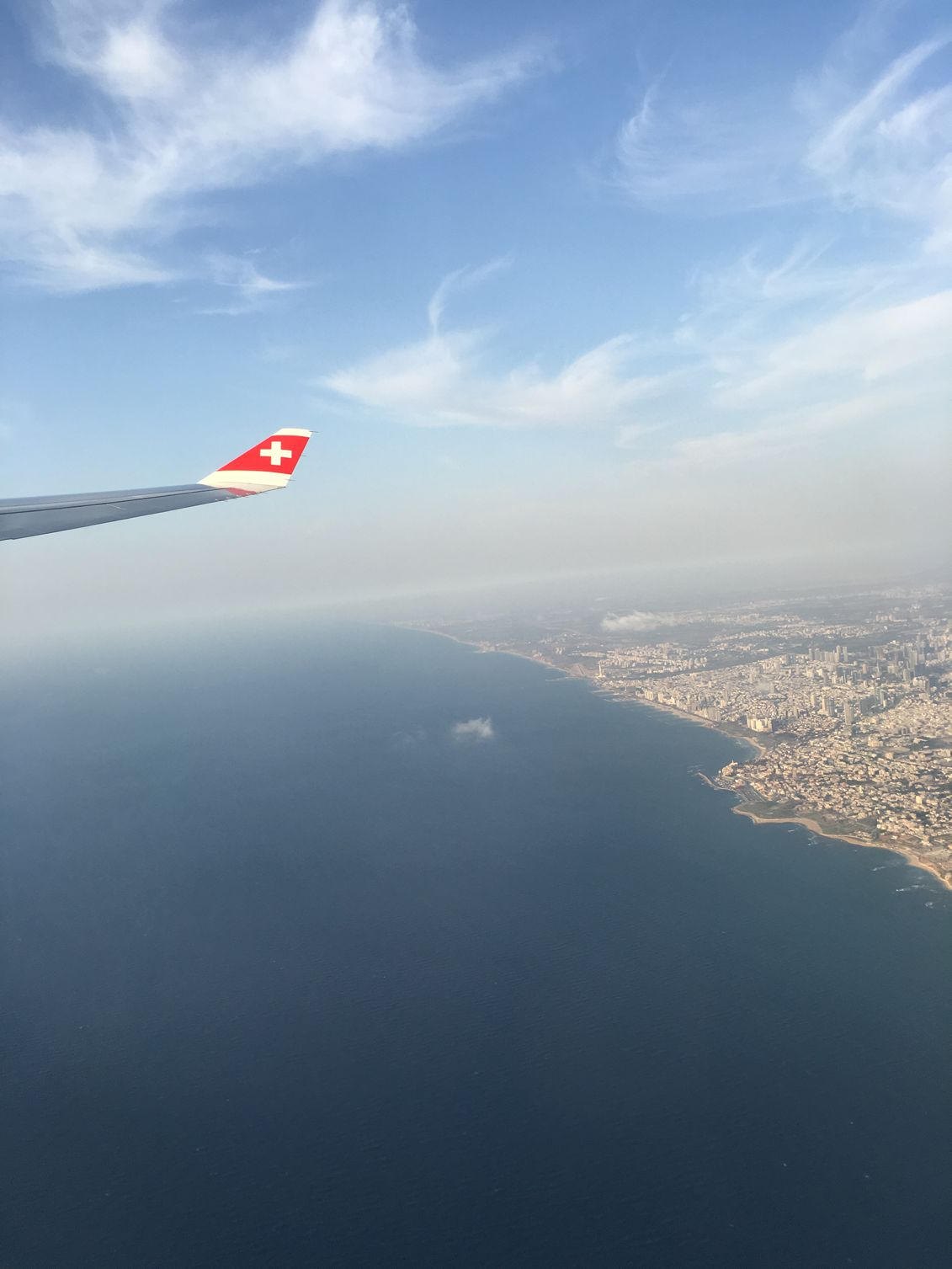 A last snapshot of Tel Aviv on the way home